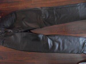Pantalon Cuir Noir 5 ans