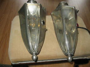 RARE 1912 PIERCE ARROW COACH LAMPS REDUCED TO 400.00