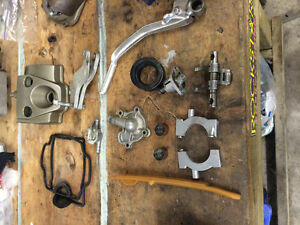 Honda crf 250 engine parts and plastics