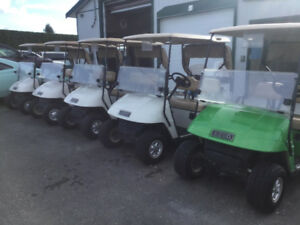 2010 E-Z-GO ELECTRIC GOLF CARTS