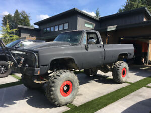 1981 lifted square body Chevy