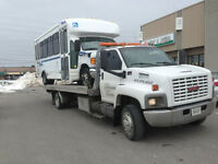 TOWING: Move Bobcats, forklifts, Excavators 416-676-5555