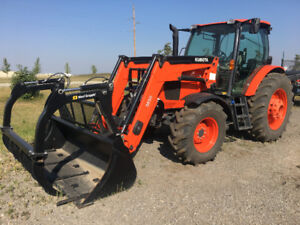 Kubota M6-141 w/ Attachments