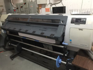 HP Large Format Printers for Parts and extras
