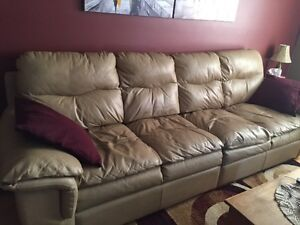 Top Grain Leather 4 seater Couch! REDUCED!