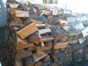 Ready to burn Fir firewood split free delivery.