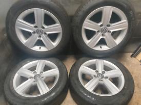 16 inch 5x112 genuine Volkswagen Golf Dover alloy wheels
