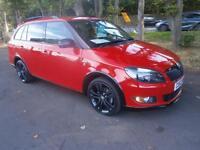 63 Skoda Fabia 1.6TDI CR ( 105ps ) Monte Carlo in RED