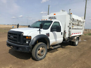 2009 Ford 550 Haul-All Garbage truck