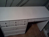 Desk with drawers for sale(great con'd/just painted/can deliver)