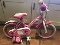 "Hello Kitty 12"" bike"