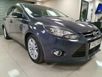 Ford Focus 1.6 TDCi Titanium X Grey £20 Tax 76MPG DIESEL WARRANTY 12 MONTHS MOT