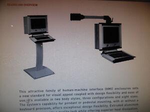 Hoffmann HMI Enclosure CCC425326HPN Flat Screen Protection New