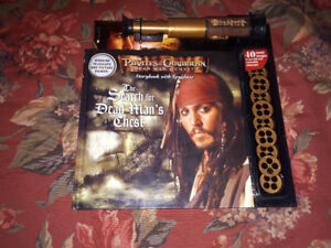 Pirates Of The Caribbean Collectors Book. New Condition