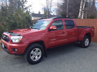 2013 Toyota Tacoma Double Cab, TRD 4x4 Pickup Truck