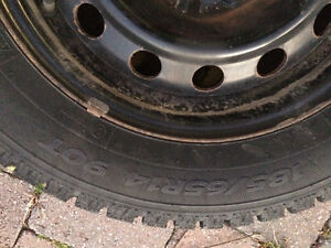 185/65/R14 Winter Tires for Sale - On Rims Set of 4 Oakville / Halton Region Toronto (GTA) image 2