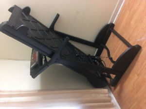 work electric treadmill fully working fold-able to fit space**