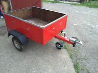 4x3ft car / camping trailer