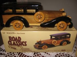 Collectable Wooden Toy Cars