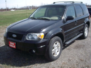 2006 FORD ESCAPE XLT 4X4 - VERY NICE SHAPE - CERTIFIED - $3,995.