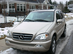 2002 Mercedes-Benz M-Class ML-500 SUV, Crossover