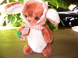 Vintage Collectible Rabbit Stuffed  Toy No 118 by R. Dakin & Co Peterborough Peterborough Area image 1