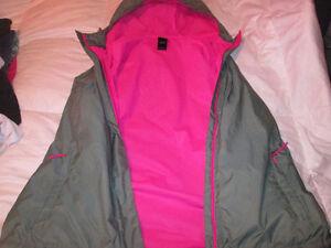 womens northface spring/rain jacket PLUS xxl