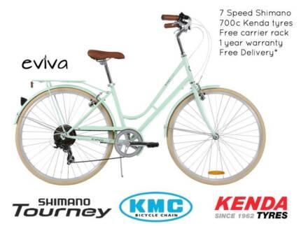 NIXEYCLES EVIVA 7SP Ladies  Bicycle  Free Delivery*