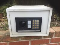 An electronic digital home safe.