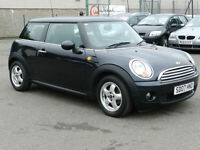 Mini 1.6 Petrol Cooper, Black, 2007, 3 Door Hatchback, 6 Months AA Warranty