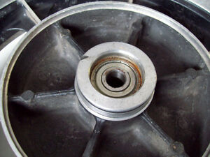 1982 Kawasaki 750 LTD rear wheel hub rim 16 X 3.00 Windsor Region Ontario image 6