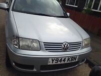 Volkswagen polo 2001 3 door 1 year MOT offers welcome