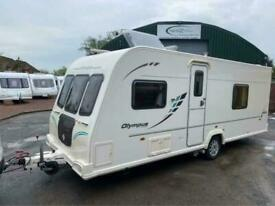2010/11 Bailey Olympus 504 4 berth fixed bed Caravan