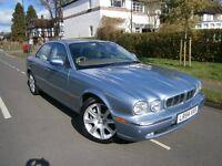 Jaguar XJ 3.0 V6 XJ6 SE (blue) 2004