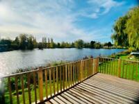 GORGEOUS 3 BEDROOM LODGE WITH LAKE VIEW ON BILLING AQUADROME CALL 07495 668377