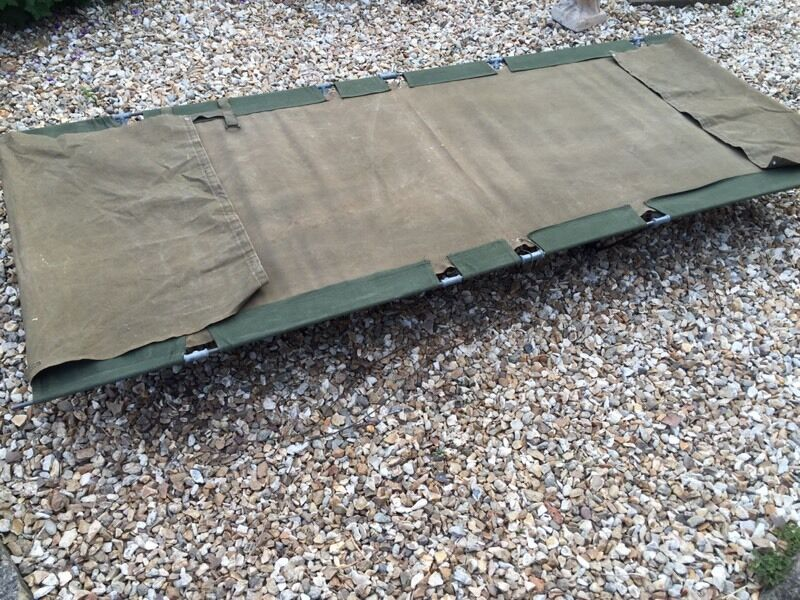 Vintage Army Camp Bed Great Condition In Downend