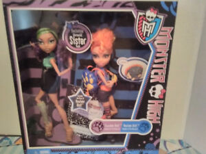 monster high clawdeen and howleen  new