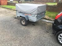 Erde 142 car trailer with water proof cove high sides lights tipping
