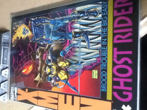 X-Men & Ghost Rider - Near Mint w/ Gambit figure (see desc)