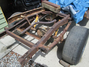 rear end, ford F1,brakes, front hubs