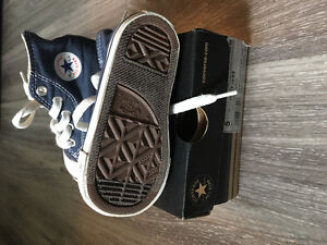CONVERSE high tops. (Toddler size 5)