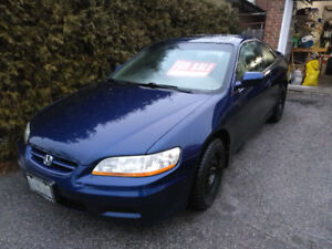 FS: 2002 Honda Accord SE Coupe (2 door) w/winter&summer tires