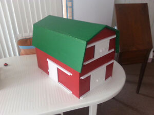 Fully Functioning Hand Crafted Barns