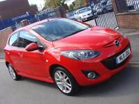 2011 11 PLATE Mazda 2 1.5 ( 103ps ) Sport 5dr in Red