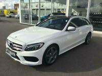2017 Mercedes-Benz C Class C200 AMG Line Premium Plus 5dr 9G-Tronic 9 Speed Auto