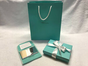 [Like New] Vintage Genuine Tiffany & Co. Silver Card Holder