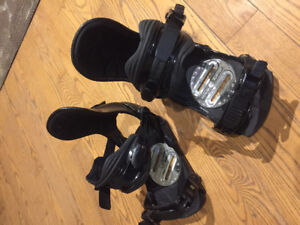 Black Ride Bindings - size medium
