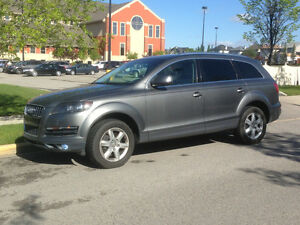 2010 Audi Q7 Quattro SUV, LOW KMS ONLY 74000 pana roof