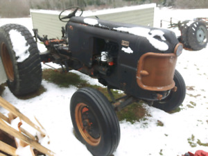 Case 300 tractor with new turf tires