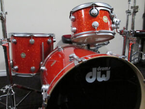 DW. Drum Workshop Collectors Drum Kit, Gold badge. Like New.